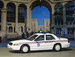 Ford Crown Polizei Municipal, Montpellier - IXO - MOC067