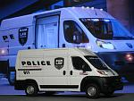 RAM ProMaster 2500 Cargo RAM LAW Enforcement Police Transport Vehicle - Greenlight