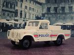 Land Rover Defender pick up police Verem