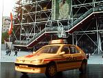 Peugeot 306 police Scalecarr