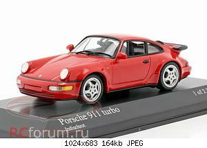 Нажмите на изображение для увеличения Название: Porsche 911 (964) Turbo year 1990 guards red Minichamps 430069104 2304 3.jpg Просмотров: 6 Размер:163.8 Кб ID:5931856