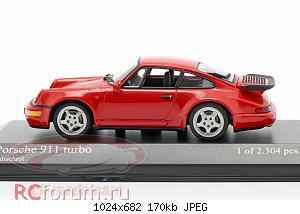 Нажмите на изображение для увеличения Название: Porsche 911 (964) Turbo year 1990 guards red Minichamps 430069104 2304 5.jpg Просмотров: 5 Размер:170.4 Кб ID:5931857