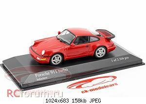 Нажмите на изображение для увеличения Название: Porsche 911 (964) Turbo year 1990 guards red Minichamps 430069104 2304 1.jpg Просмотров: 6 Размер:158.4 Кб ID:5931859