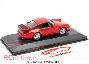 Нажмите на изображение для увеличения Название: Porsche 911 (964) Turbo year 1990 guards red Minichamps 430069104 2304 2.jpg Просмотров: 5 Размер:159.2 Кб ID:5931860