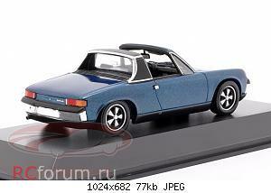 Нажмите на изображение для увеличения Название: Porsche 914-6 year 1973 blue metallic Spark MAP02005918 59,95 4.jpg Просмотров: 4 Размер:77.1 Кб ID:5931863