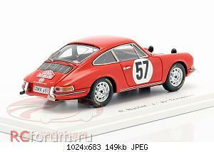 Нажмите на изображение для увеличения Название: Porsche 911 S #57 Rallye Monte Carlo 1966 Buchet, Schlesser Spark S6603 64,95 4.jpg Просмотров: 2 Размер:149.5 Кб ID:5931871