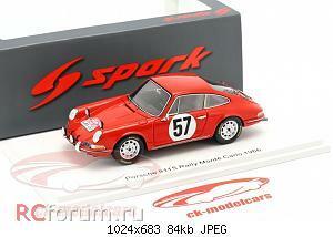 Нажмите на изображение для увеличения Название: Porsche 911 S #57 Rallye Monte Carlo 1966 Buchet, Schlesser Spark S6603 64,95 1.jpg Просмотров: 2 Размер:84.0 Кб ID:5931872