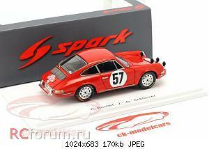 Нажмите на изображение для увеличения Название: Porsche 911 S #57 Rallye Monte Carlo 1966 Buchet, Schlesser Spark S6603 64,95 2.jpg Просмотров: 2 Размер:170.2 Кб ID:5931873