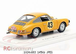 Нажмите на изображение для увеличения Название: Porsche 911 S #43 Rallye Monte Carlo 1967 Aarnio-Wihuri, Laakso Spark S6605 64,95 4.jpg Просмотров: 3 Размер:145.1 Кб ID:5931876