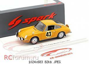Нажмите на изображение для увеличения Название: Porsche 911 S #43 Rallye Monte Carlo 1967 Aarnio-Wihuri, Laakso Spark S6605 64,95 1.jpg Просмотров: 2 Размер:82.4 Кб ID:5931877