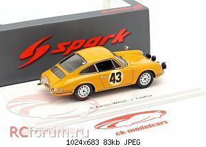 Нажмите на изображение для увеличения Название: Porsche 911 S #43 Rallye Monte Carlo 1967 Aarnio-Wihuri, Laakso Spark S6605 64,95 2.jpg Просмотров: 2 Размер:83.2 Кб ID:5931878