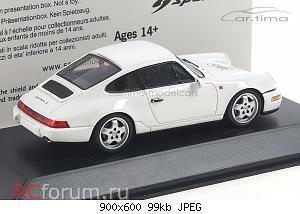 Нажмите на изображение для увеличения Название: Porsche 911 (964) Carrera 4 Grandprix-weiß Spark MAP02007011 4.jpg Просмотров: 2 Размер:98.5 Кб ID:5939109