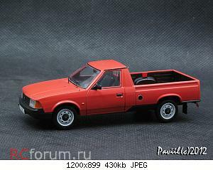 Moskvich 2335 red 1-43 Prommodel43.jpg