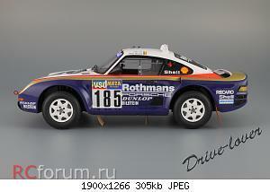 Нажмите на изображение для увеличения Название: Porsche 959 Dakar Rally raid True Scale Miniatures TSM111806R_05.JPG Просмотров: 6 Размер:305.2 Кб ID:2434994