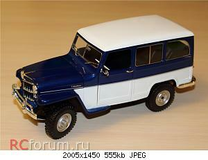 Jeep Willys Station Wagon (1955) 1 18 Lucky Diecast 01.JPG