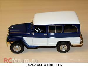 Jeep Willys Station Wagon (1955) 1 18 Lucky Diecast 02.JPG