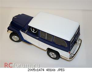 Jeep Willys Station Wagon (1955) 1 18 Lucky Diecast 05.JPG