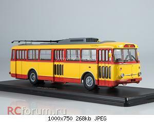 Нажмите на изображение для увеличения Название: Троллейбус Skoda-9TR (красно-жёлтый).jpg Просмотров: 14 Размер:268.0 Кб ID:5761099