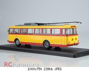 Нажмите на изображение для увеличения Название: Троллейбус Skoda-9TR (красно-жёлтый)_.jpg Просмотров: 7 Размер:239.1 Кб ID:5761100
