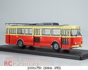 Нажмите на изображение для увеличения Название: Троллейбус Skoda-9TR (красно-бежевый).jpg Просмотров: 9 Размер:264.1 Кб ID:5761106