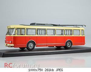 Нажмите на изображение для увеличения Название: Троллейбус Skoda-9TR (красно-бежевый)_.jpg Просмотров: 6 Размер:261.1 Кб ID:5761107