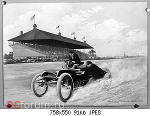 Нажмите на изображение для увеличения Название: Composite image depicting Henry Ford and Ed 'Spider' Huff driving Ford 'Sweepstakes' Rac.jpg Просмотров: 4 Размер:90.9 Кб ID:5487036