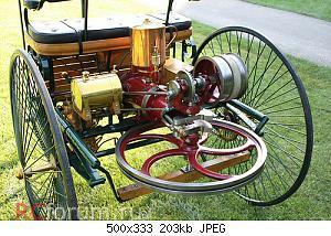 Нажмите на изображение для увеличения Название: benz patentwagen'.jpg Просмотров: 44 Размер:202.7 Кб ID:3325185