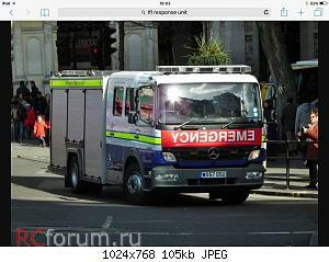 Нажмите на изображение для увеличения Название: Fire Brigade - Mercedes Atego Transport For London Response Unit 03.jpg Просмотров: 12 Размер:104.5 Кб ID:4196651