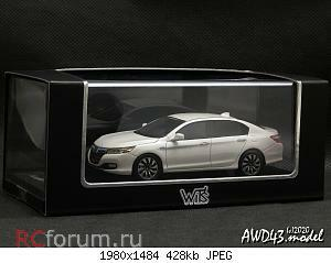 Honda Accord Hybrid 2013 White Orchid Pearl 1-43   Wit's.jpg