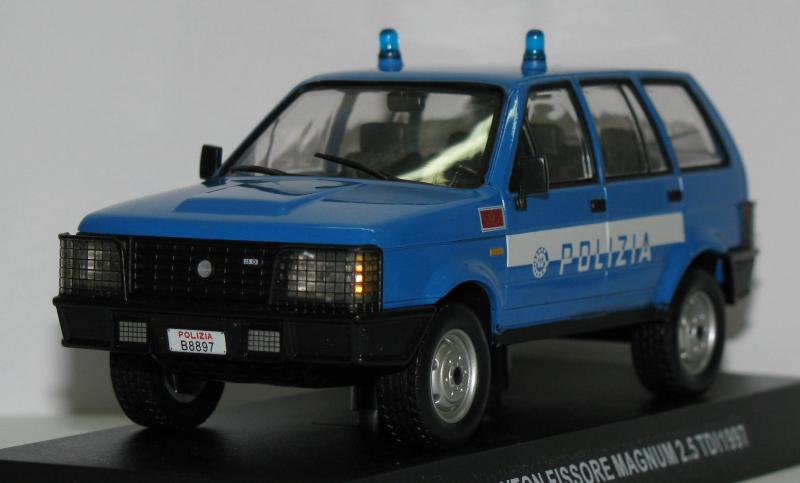 Полицейские Машины Мира СПЕЦВЫПУСК №2 - Raiton Fissore Magnum 2,5 TDI