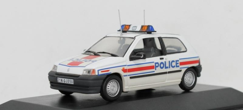 Renault Clio I (Universal Hobbies/Norev) - Police Nationale, 1990