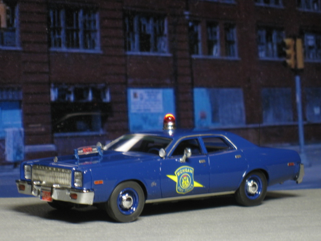 PLYMOUTH Fury Michigan State Police 1977 - NEO