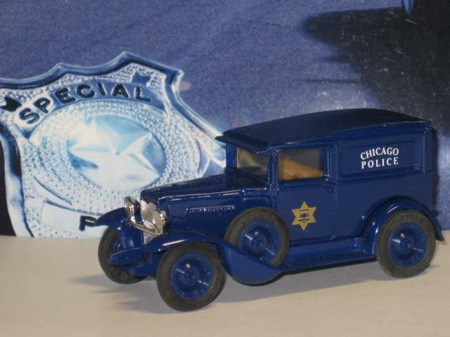 Chevrolet AD Deluxe Delivery Chicago Police 1930 - Ertl