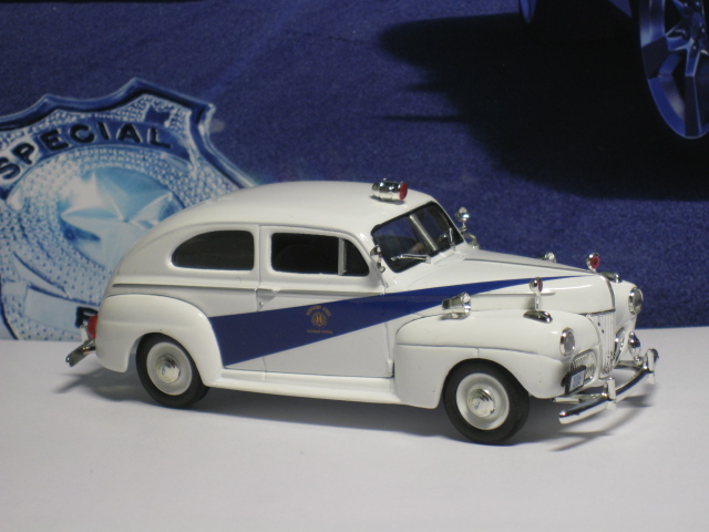 Ford 1941 Two Door Sedan Kentucky Highway Patrol - FRR