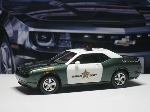 Dodge Challenger R/T Broward Country Sheriff 2009 -Premium X